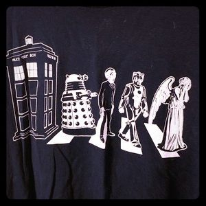 Shirts - Doctor Who/Abbey Road T-shirt XXL